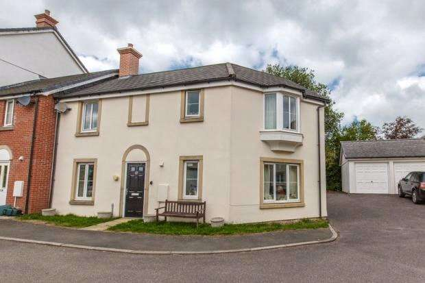 3 Bedrooms End Of Terrace House for sale in Langley View, Chulmleigh, Devon