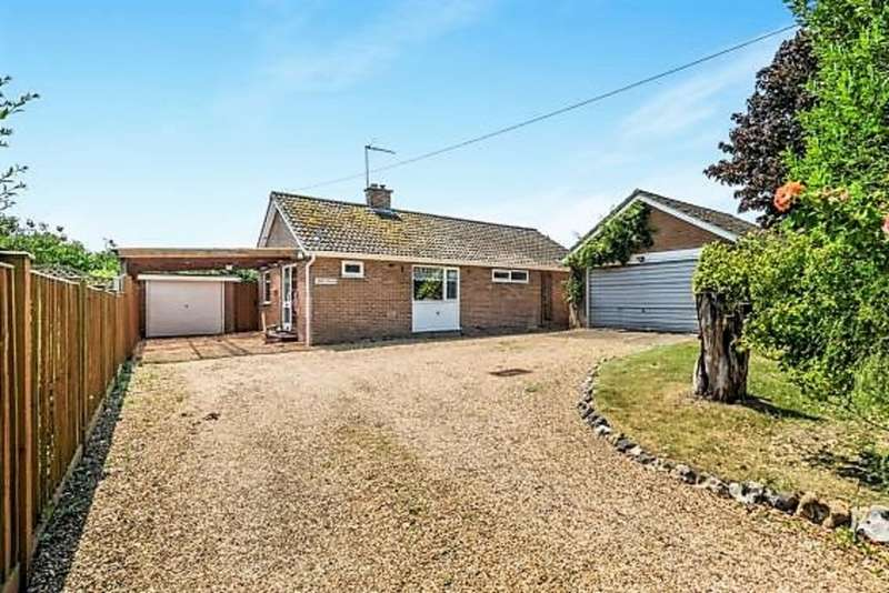 3 Bedrooms Detached Bungalow for sale in Yarmouth Road, Kirby Cane, Bungay