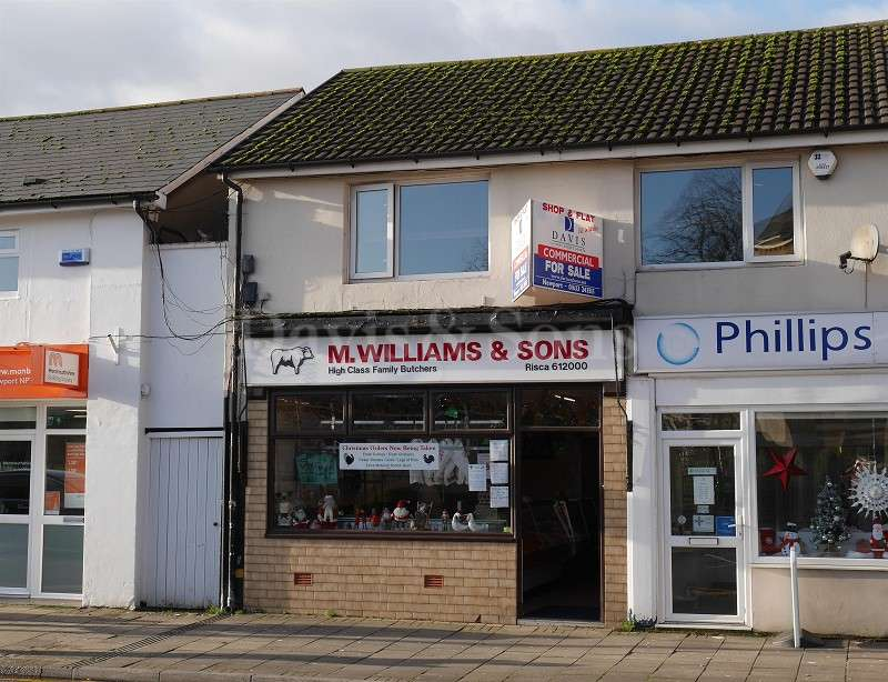 Retail Property (high Street) Commercial for sale in Tredegar Street,, Risca, Newport. NP11 6BW