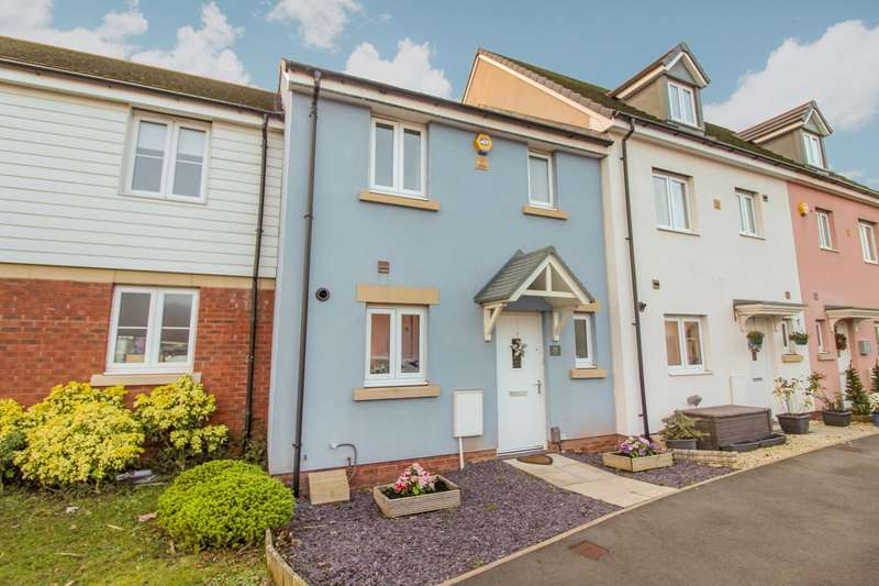 3 Bedrooms Terraced House for sale in Bessemer Drive, Newport, NP19
