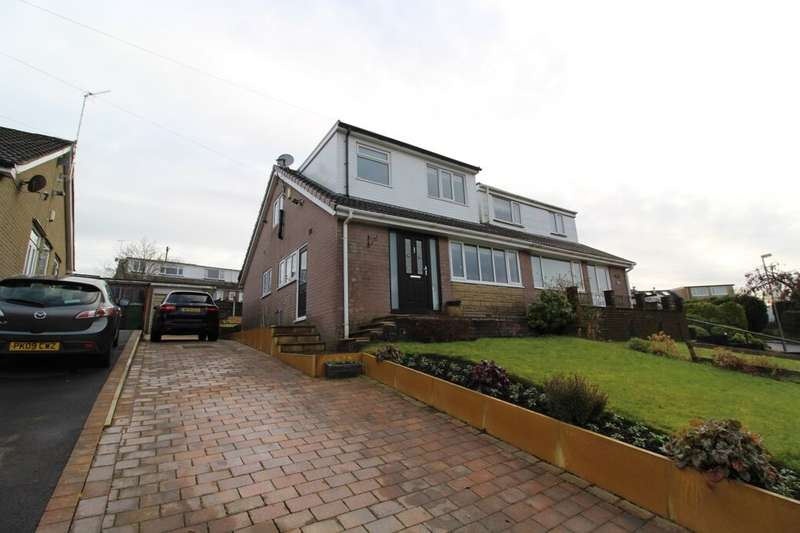 3 Bedrooms Semi Detached House for sale in Hameldon Road, Loveclough, Rossendale, BB4