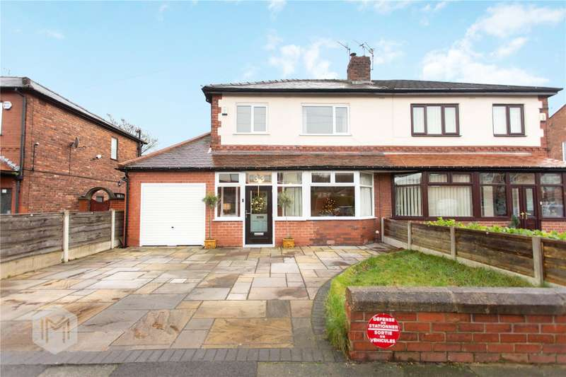 3 Bedrooms Semi Detached House for sale in Houghton Lane, South Swinton, Manchester, M27