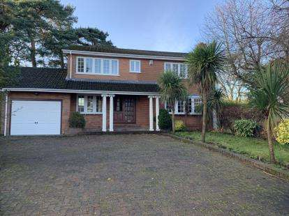 4 Bedrooms Detached House for sale in Burrell Close, Prenton, Merseyside, CH42