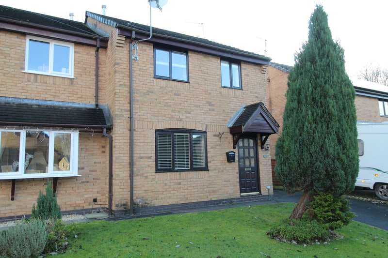 3 Bedrooms Semi Detached House for sale in Printers Fold, Burnley, Lancashire, BB12