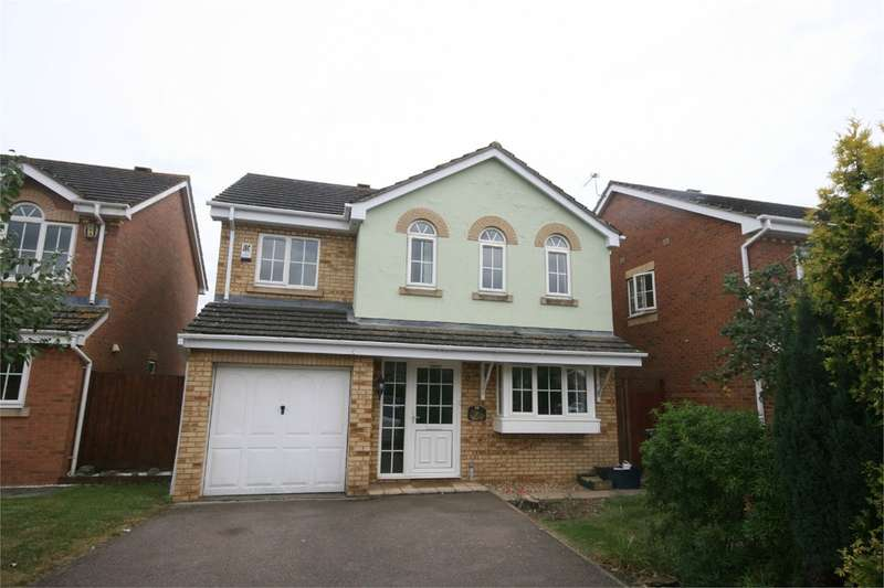 4 Bedrooms Detached House for rent in Fosberry Close, Wootton, Northampton, NN4