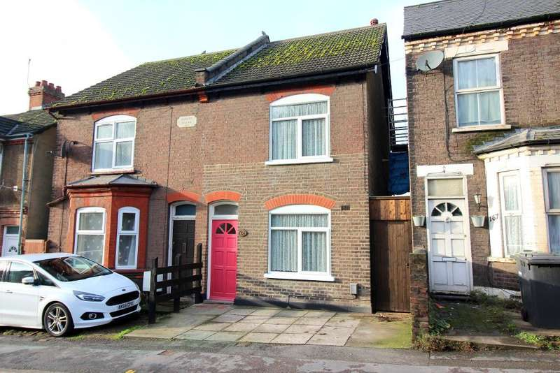 3 Bedrooms Semi Detached House for sale in Hitchin Road, Luton, Bedfordshire, LU2 0EP