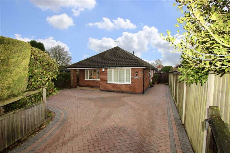 3 Bedrooms Bungalow for sale in Siddalls Drive, Sutton in Ashfield