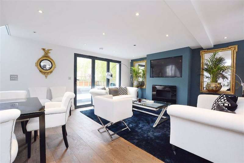 3 Bedrooms Semi Detached House for sale in Saltram Crescent, Maida Vale, London, W9