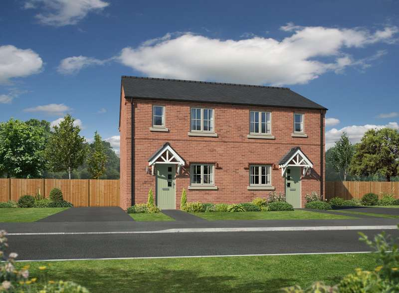 3 Bedrooms Semi Detached House for sale in Plot 4, Henry Robertson Place, Gobowen, Oswestry, SY11