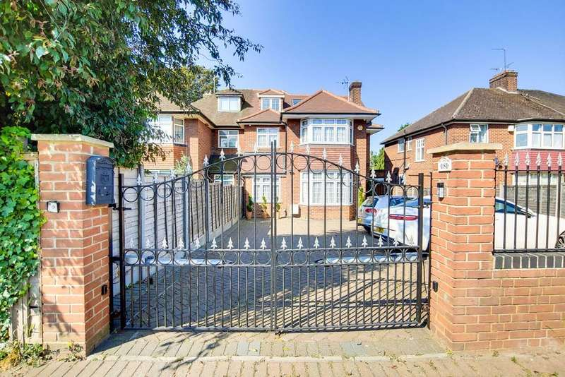 6 Bedrooms Semi Detached House for sale in HENDON WAY, GOLDERS GREEN BORDERS, LONDON, NW2