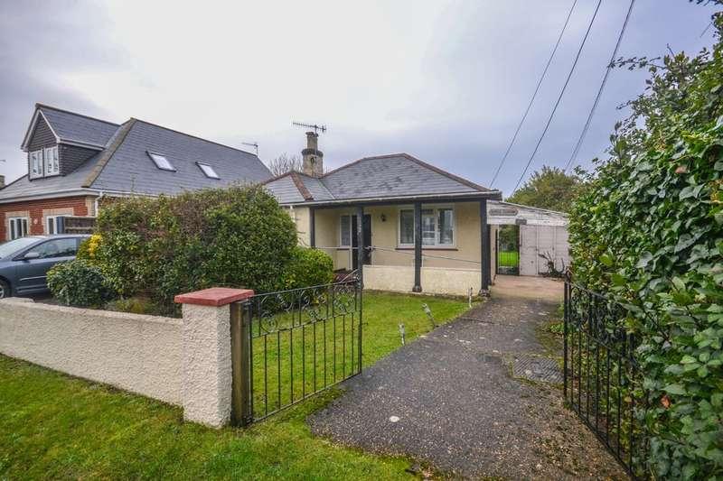 2 Bedrooms Detached Bungalow for sale in Preston Road, Bembridge
