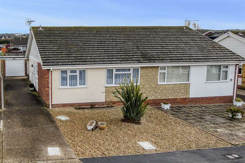 2 Bedrooms Semi Detached Bungalow for sale in Chanctonbury Chase, Whitstable