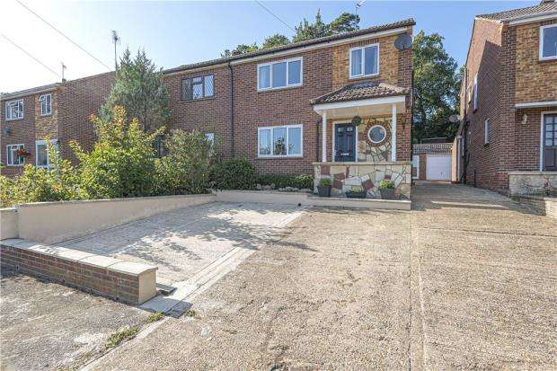4 Bedrooms Semi Detached House for sale in Highfields, Ascot, Berkshire