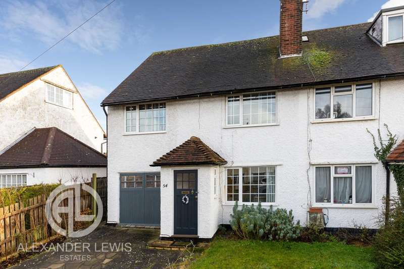 3 Bedrooms End Of Terrace House for sale in Shott Lane, Letchworth Garden City, SG6 1SE