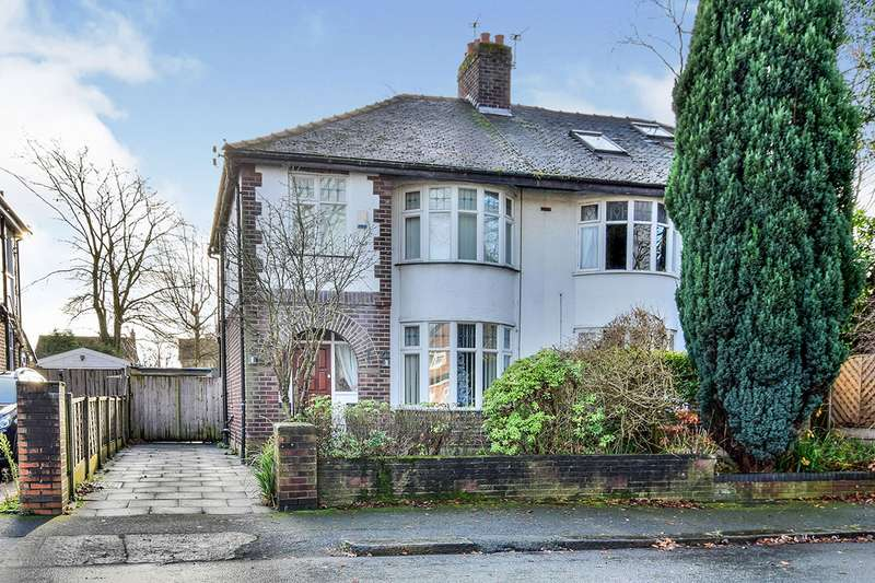 3 Bedrooms Semi Detached House for sale in Wendover Road, Manchester, Greater Manchester, M23