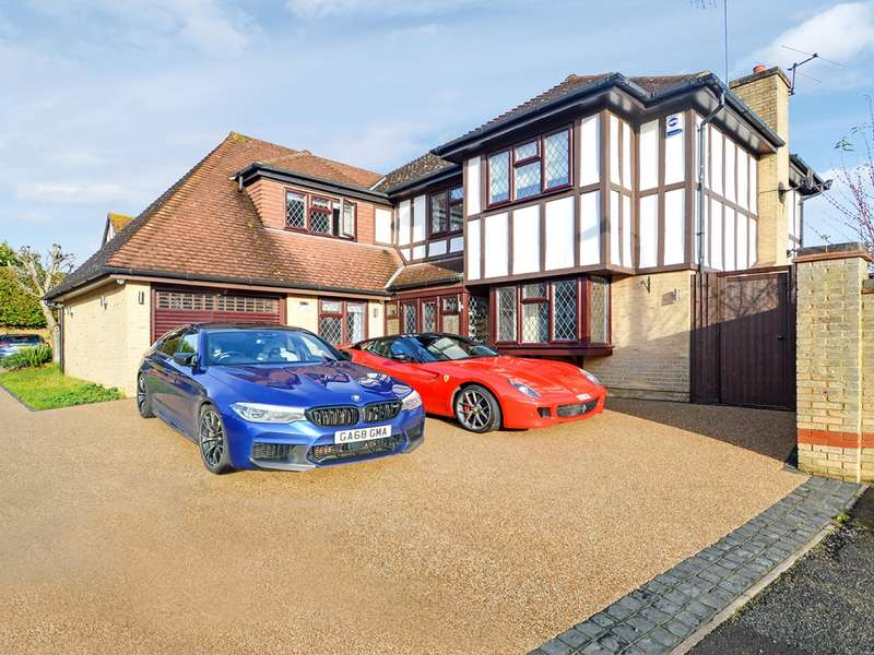 5 Bedrooms Detached House for sale in The Lindens, Loughton IG10