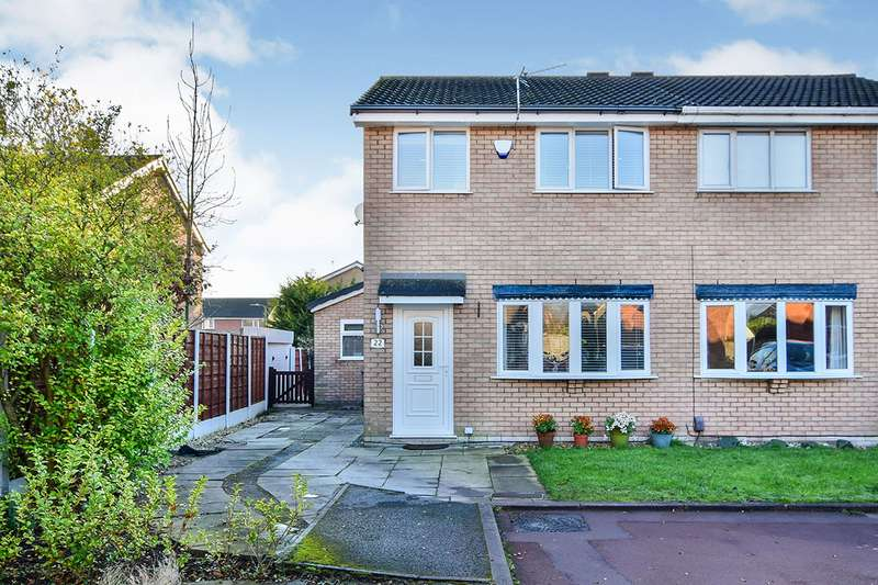 3 Bedrooms Semi Detached House for sale in Foxglove Drive, Broadheath, Altrincham, Cheshire, WA14