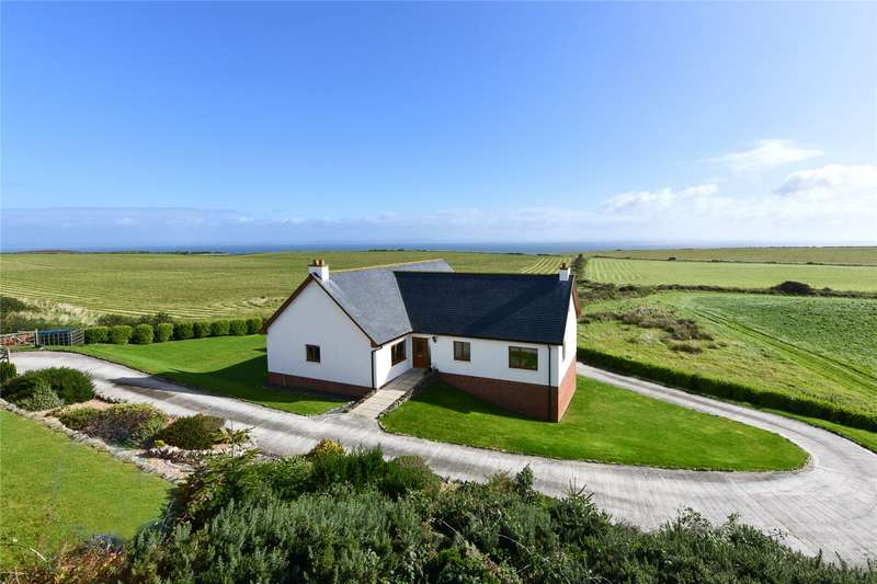 5 Bedrooms Detached House for sale in Craiginfinny, Drummore, Stranraer, Dumfries and Galloway, DG9