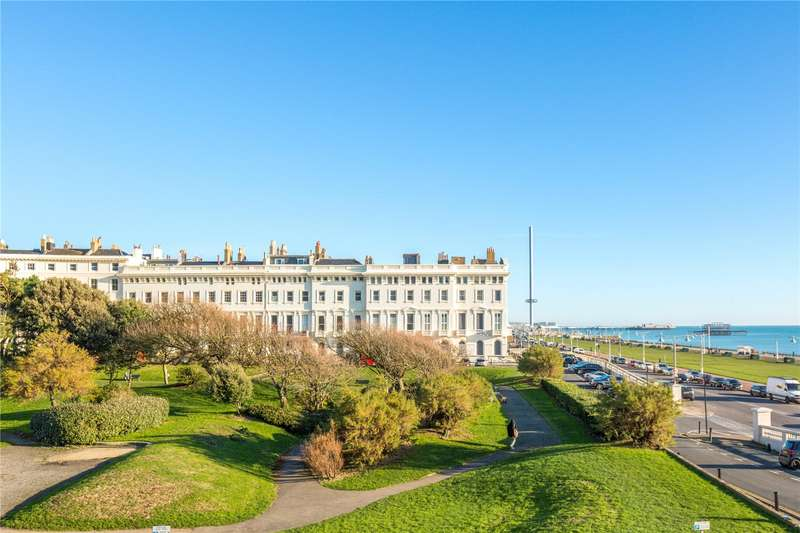 3 Bedrooms Apartment Flat for sale in Adelaide Crescent, Hove, East Sussex, BN3