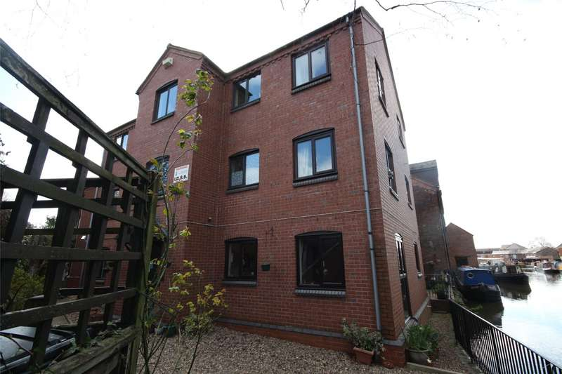 1 Bedroom Apartment Flat for sale in Wharf House, Lowesmoor Terrace, Worcester, Worcestershire, WR1