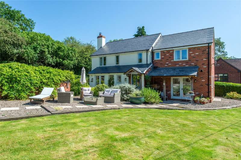 3 Bedrooms Detached House for sale in Rock Lane, Clifton-on-Teme, Worcester, Worcestershire, WR6