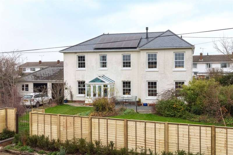 5 Bedrooms Detached House for sale in Kingstone, Hereford, HR2