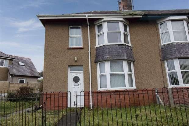 3 Bedrooms End Of Terrace House for sale in Ffordd Islwyn, Bangor, Gwynedd