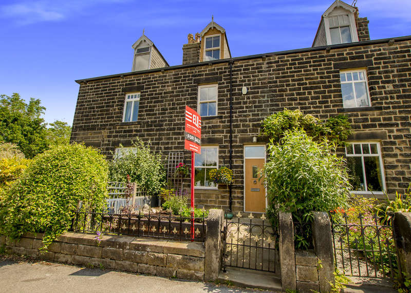 3 Bedrooms Terraced House for sale in Fern Royd, Hathersage, Hope Valley