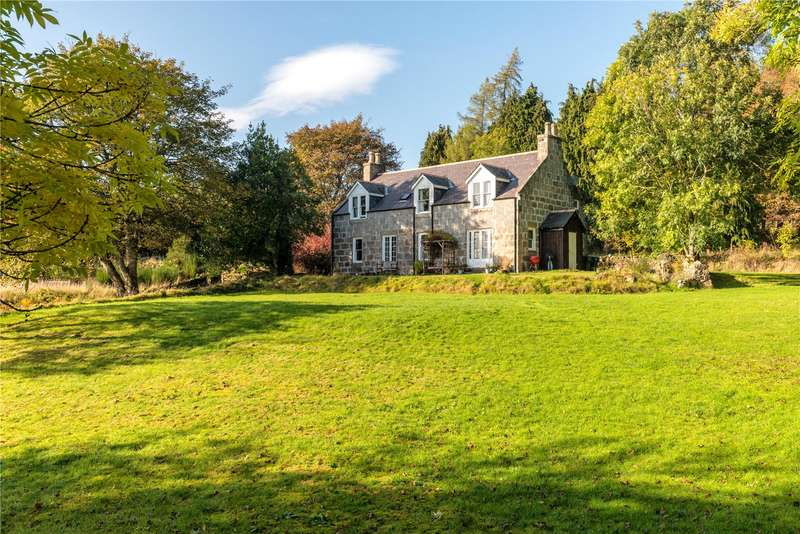 5 Bedrooms Equestrian Facility Character Property for sale in Westerton Cottage, Dess, Aboyne, Aberdeenshire, AB34