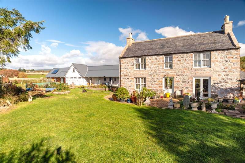 2 Bedrooms Detached House for sale in Mains of Drumduan, Dess, Aboyne, Aberdeenshire, AB34