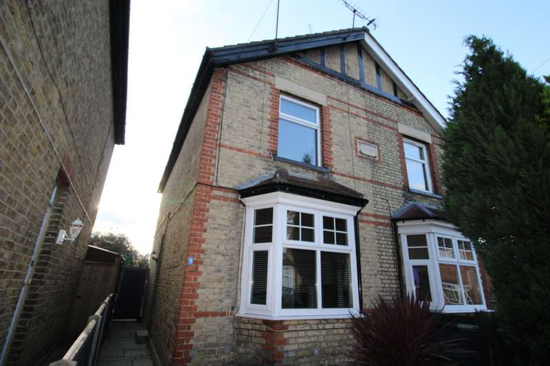 3 Bedrooms Semi Detached House for sale in Century Road, Staines-Upon-Thames, Middlesex, TW18