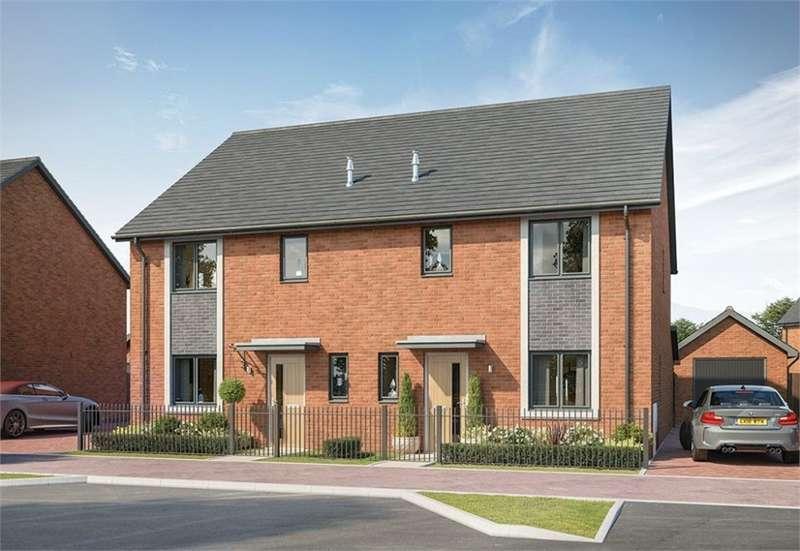 3 Bedrooms Semi Detached House for sale in Morton Park, Wavendon, Milton Keynes, Buckinghamshire, New Home