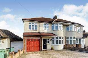 5 Bedrooms Semi Detached House for sale in Benfleet Close, Sutton, Surrey