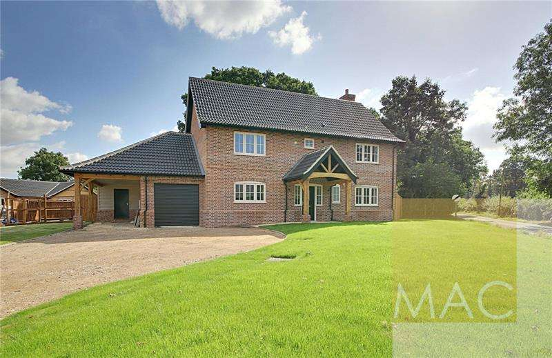 4 Bedrooms Detached House for sale in Cley Lane, Saham Toney, Thetford, Norfolk, IP25