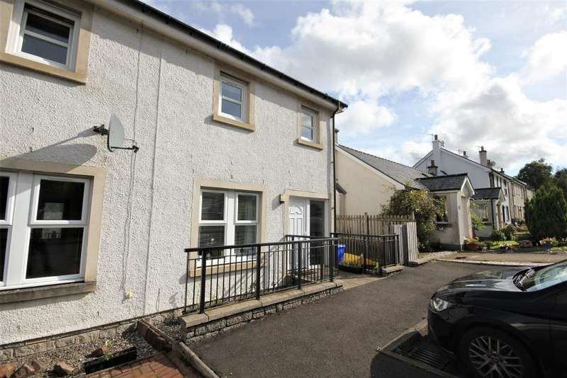 2 Bedrooms Semi Detached House for sale in Dunmore gardens, Fintry, Glasgow, G63 0XD
