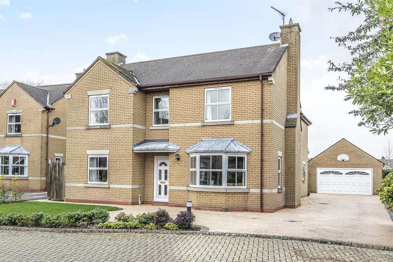 4 Bedrooms Detached House for sale in Fairlawn, Beverley, East Yorkshire, HU17N 7DD