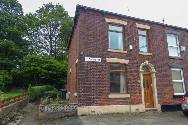 3 Bedrooms End Of Terrace House for sale in Oldham Road, Ashton-under-Lyne, Greater Manchester, OL7