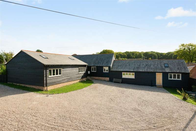 5 Bedrooms Detached Bungalow for sale in Honey Hill, Blean, Canterbury