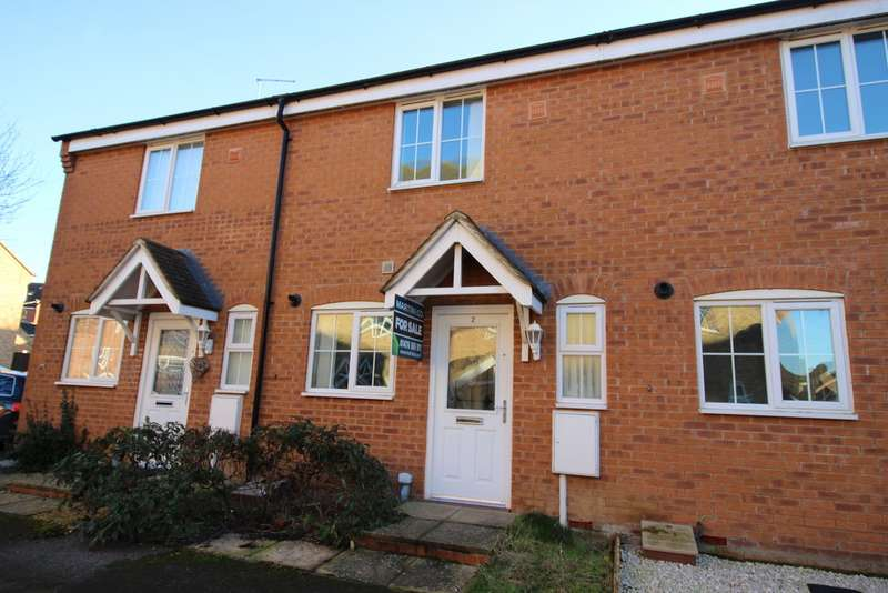 2 Bedrooms Terraced House for sale in Grantham, Wingfield Court NG31