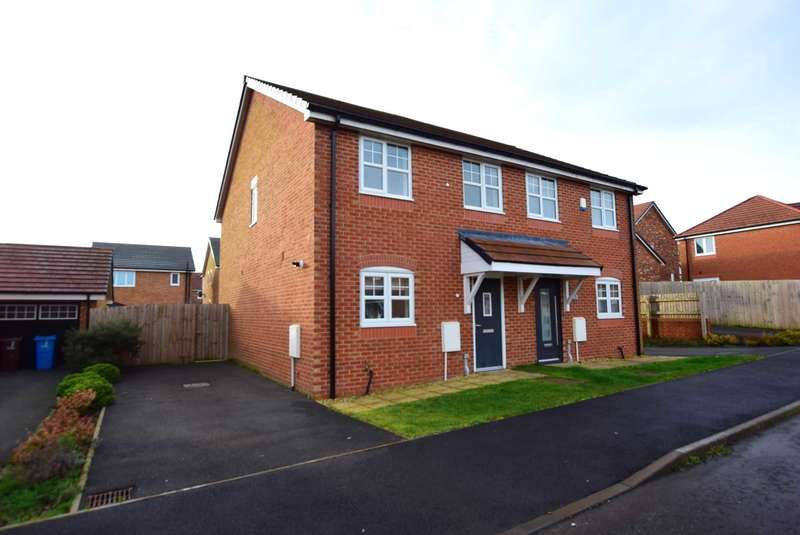 3 Bedrooms Semi Detached House for sale in Teal Close, Wesham, PR4 3JT