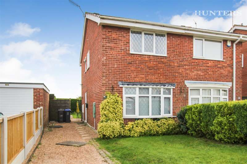 2 Bedrooms Semi Detached House for sale in Rennie Crescent, Cheddleton , Staffordshire, ST13 7HD