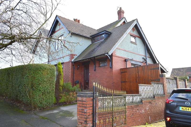 3 Bedrooms Semi Detached House for sale in Rising Lane, Garden Suburbs, Oldham, OL8 3AN