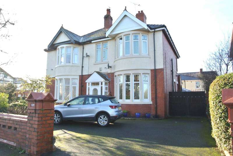 5 Bedrooms Semi Detached House for sale in Lytham Road, Blackpool, FY4 1TE