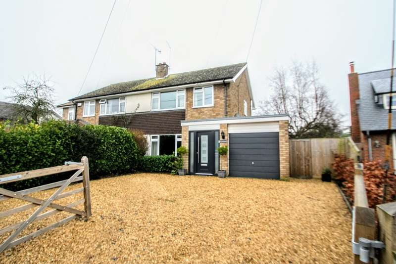 4 Bedrooms Semi Detached House for sale in Chinnor Road, Towersey, Thame OX9
