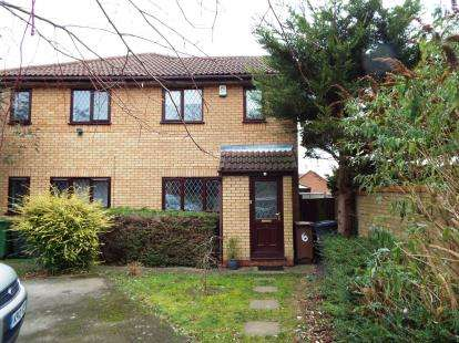 1 Bedroom Terraced House for sale in Dexter Close, Luton, Bedfordshire