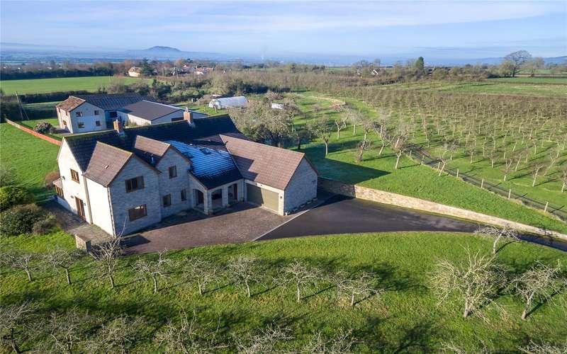 5 Bedrooms Detached House for sale in Stone Allerton, Axbridge, Somerset, BS26