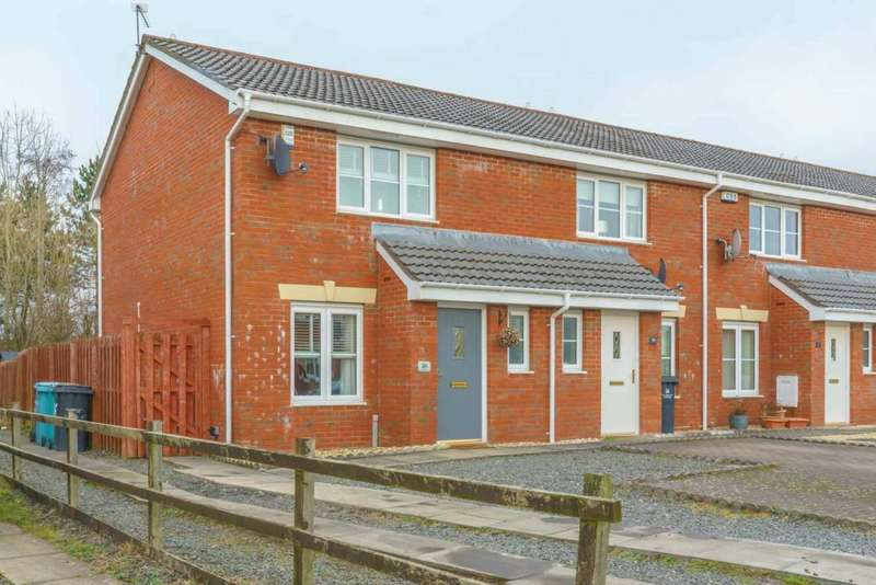 3 Bedrooms End Of Terrace House for sale in Berryhill Crescent, Wishaw