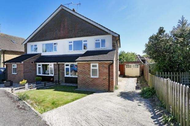 3 Bedrooms Semi Detached House for sale in Wheatfield Way, Cranbrook, TN17