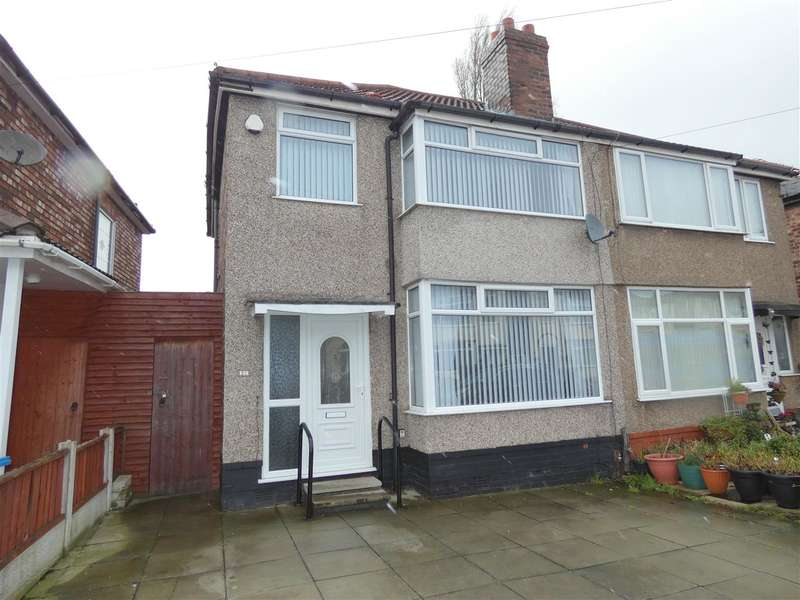 3 Bedrooms Semi Detached House for sale in Beechburn Crescent, Huyton, Liverpool