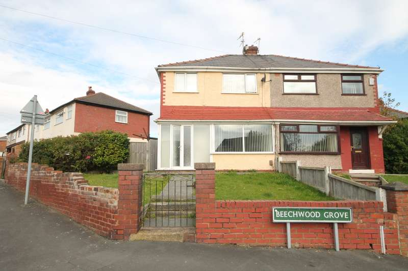 3 Bedrooms Semi Detached House for sale in Beechwood Grove Whiston L35